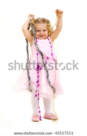 cute child - stock photo