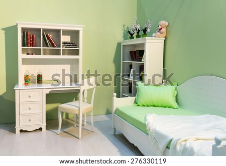 Cute child room - stock photo