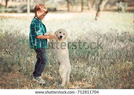 Good Golden Retriever Blue Eye Adorable Dog - stock-photo-cute-handsome-boy-teen-with-blue-eyes-playing-outdoor-amazing-white-pink-labrador-retriever-puppy-712811704  Graphic_192793  .jpg