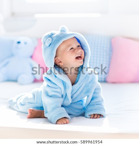Cute Bath Pillow : Cute Happy Laughing Baby Boy Soft Stock Photo 589961954 - Shutterstock