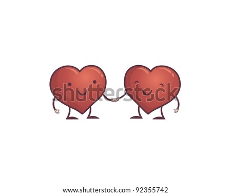 Stock Images similar to ID 140410201 - vector bride and groom stick...