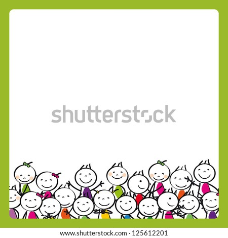 Cute kids - stock photo