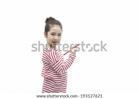 Cute korean girl drawing stock photo 193127621 shutterstock cute korean girl drawing voltagebd