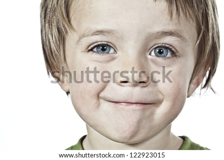 Cute little infant Boy - stock photo