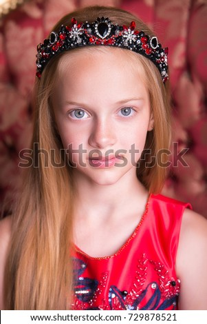 thai girl traditional dress during parade stock photo. Black Bedroom Furniture Sets. Home Design Ideas