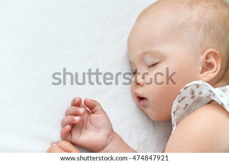 cute Sleeping baby girl