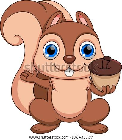 cute squirrel cartoon stock vector 196432391 shutterstock chipmunk clip art black and white chipmunk clip art images