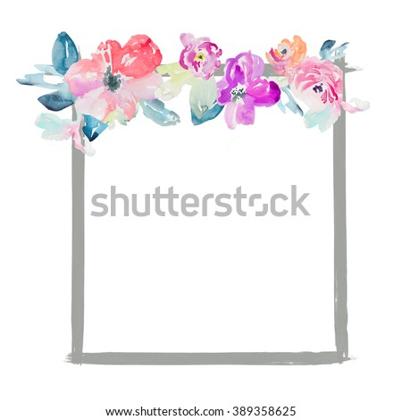Circle Flower Frame Stock Images Royalty Free Images Amp Vectors
