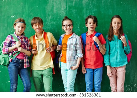 Cute youngsters - stock photo