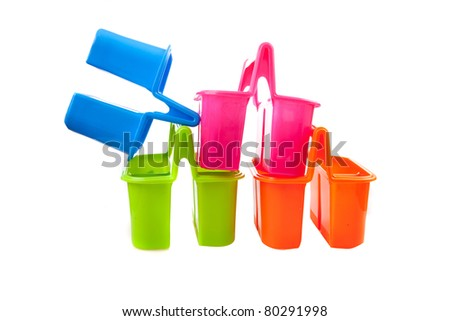 Cutlery container - stock photo