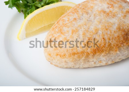 Cutlet - stock photo