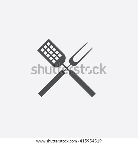 Cutters Flat icon on white background. - stock photo