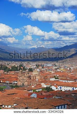 Cuzco Peru - stock photo