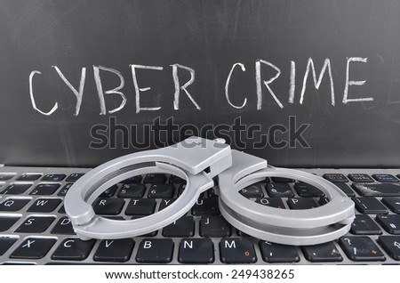 Cy-ber Crime - stock photo