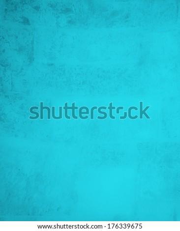cyan background - stock photo