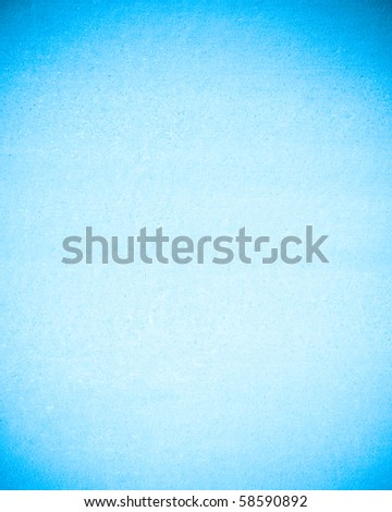 cyan background - stock photo