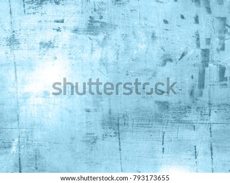 Cyan background - abstract light blue grunge texture