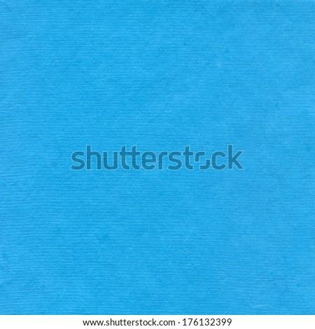 Cyan paper background - stock photo
