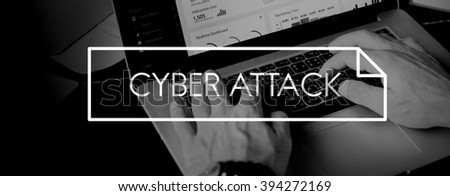 Cyber Attack Technology Digital Online Concept