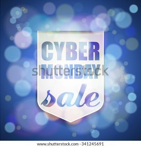 Cyber Monday Sale - stock photo
