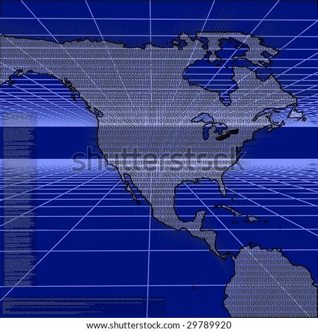 Cyber Warfare - stock photo