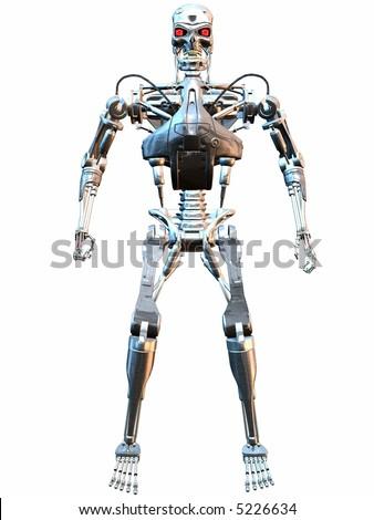 Cyborg - stock photo
