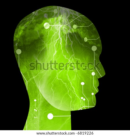 Cyborg - stock photo