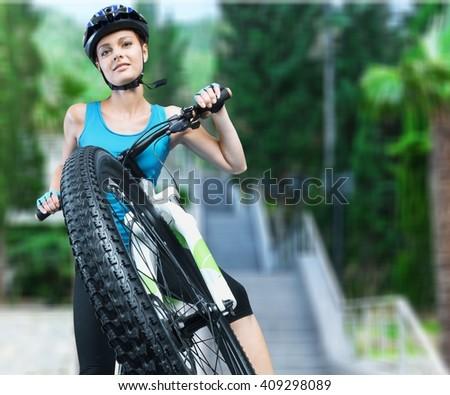 Cycling. - stock photo