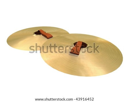Cymbals - stock photo