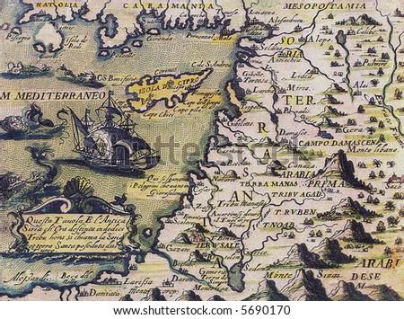 Cyprus ancient map stock illustration 5690170 shutterstock cyprus ancient map gumiabroncs Choice Image