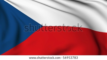 Czech republic flag World flags Collection
