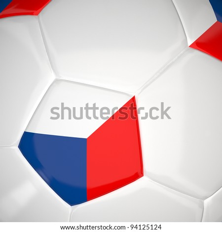 Czech Republic on 3d football  for Euro 2012 Group A