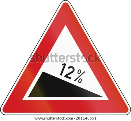 Czech warning sign about decline of 12 Percent.
