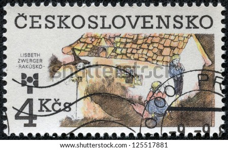 CZECHOSLOVAKIA - CIRCA 1983: The stamp printed in Czechoslovakia shows a fairy-tale, circa 1983