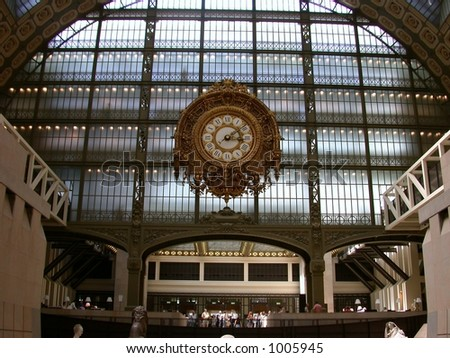D'Orsay Museum, Paris, France - stock photo