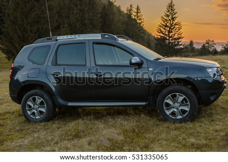 dacia duster stock images royalty free images vectors. Black Bedroom Furniture Sets. Home Design Ideas