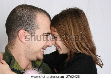 Daddy & Daughter - stock photo