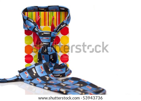 Daddy's Favorite Tie ( Fathers Day ) - stock photo