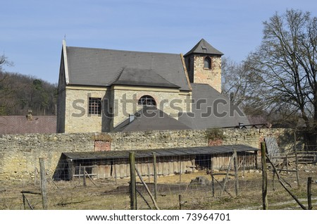 dairy farm in the St. Anna Abby, Lower Austria