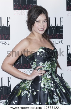 Daisy Lowe arriving for the 2013 Elle Style Awards, at The Savoy Hotel, London. 11/02/2013 Picture by: Simon Burchell