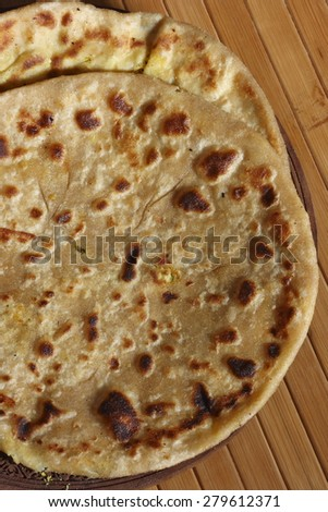 Dal Jo lolo - pancake made with Yellow moong dal and spices from India