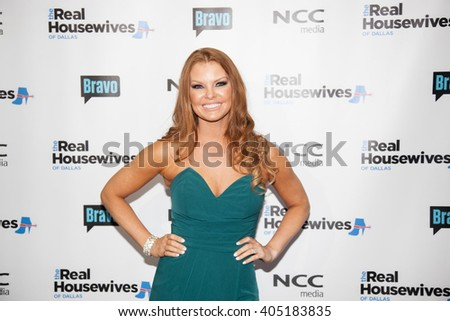 DALLAS, NY-APR 5: TV personality Brandi Redmond attends The Real Housewives of Dallas premiere party at The Chandelier Room on April 5, 2016 in Dallas, Texas. - stock photo