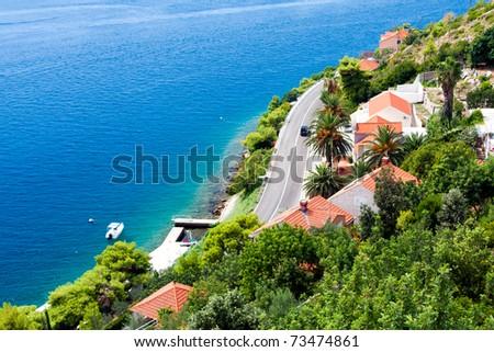 Dalmatian Coast - stock photo