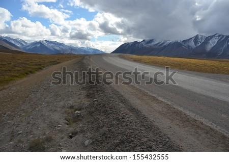 Dalton Highway, Alaska - stock photo