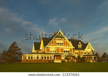 Dalvey by the Sea in Prince Edward Island National Park, PEI, Canada - stock photo