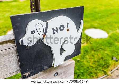 Bathroom Signs No Pooping no shit stock images, royalty-free images & vectors | shutterstock