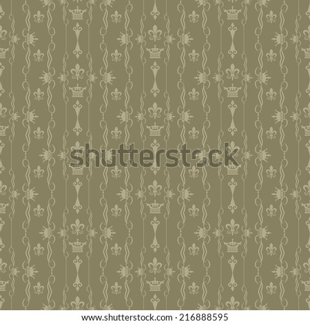 damask decorative wallpaper for walls vintage seamless patterns abstract background