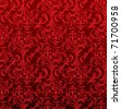 Damask pattern - stock photo