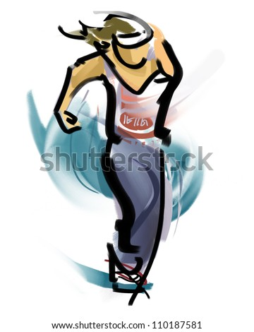 Dance - stock photo