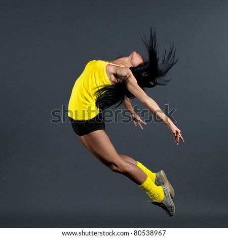 dance - stock photo